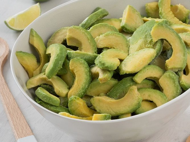 Lárperur Avocado sneiðar 500g (12)